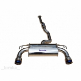 Lancer EVO X 08/- Cat-back exhaust Q300tl