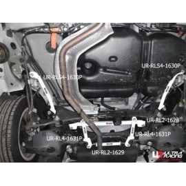 Lexus CT200H 11+ 1.8 UltraRacing 2x 2-Point Rear Bars 1631P