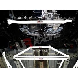 Mazda 2 (Sedan) 07+ UltraRacing 2-Point Front Lower Tiebar