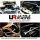 VW Scirocco 08+ 2.0T UltraRacing 2-Point Rear Torsion Bar