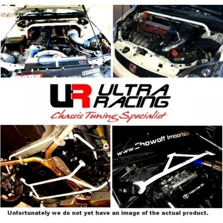 VW Scirocco 08+ 2.0T UltraRacing 2-Point Rear Torsion Bar