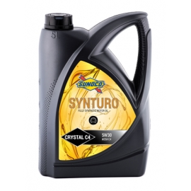 SUNOCO SYNTURO CRYSTAL C4 5W30