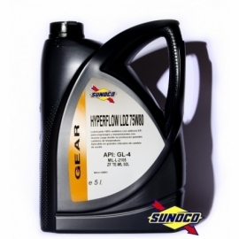 SUNOCO GEAR GL-4 HYPERFLOW LDZ 75W80
