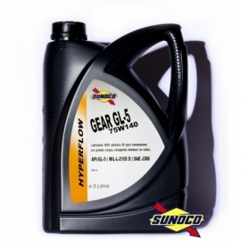 SUNOCO GEAR GL-5 HYPERFLOW 75W140