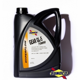SUNOCO GEAR GL-5 HYPERFLOW 75W90