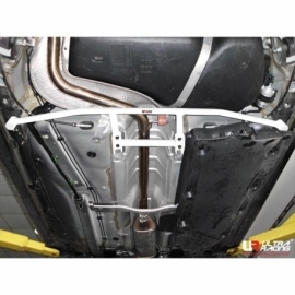 Audi A1 10+ UltraRacing 4-Point Rear Lower H-Brace 1834