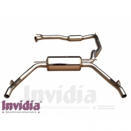 Civic 06/- 3dr FN2 Type R Cat back system Q300tl