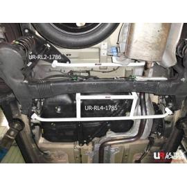 Citroen C4 Picasso 06+ UltraRacing 4-Point Rear Lower Brace