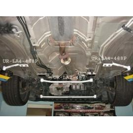 Honda Accord 03-08 2D/4D UltraRacing 2x 2-Point Front Bars