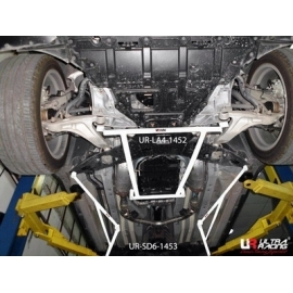 Infiniti FX 09+ 4WD Ultra-R 4-Point Front Lower H-Brace 1452