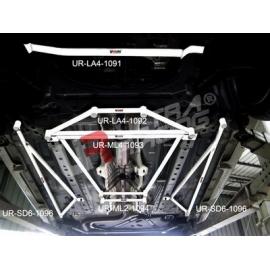 Mazda 2 (Sedan) 07+ UltraRacing 2-Point Mid Lower Brace 1094