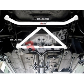 Porsche Boxster (986) UltraRacing 2-Point Front Lower Tiebar