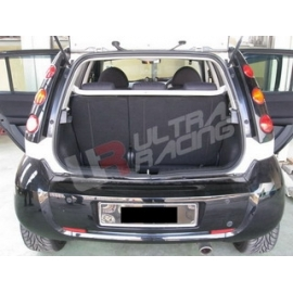 Smart Forfour Hardttop UltraRacing 2-Point C-Pillar Rear Bar