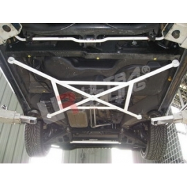 Smart Fortwo 450 Softtop 98-07 UltraRacing 5P Mid Lower Bar