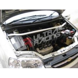 Chevrolet Aveo UltraRacing 2-Point Front Upper Strutbar