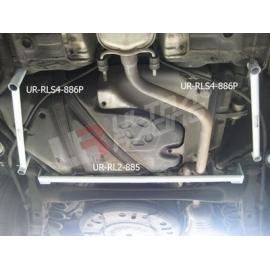 Daewoo Lacetti /Chevrolet Nubira Ultra-R 2x 2Point Side Bars