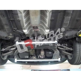 Hyundai Accent 06+ / Kia Rio 1.4 Ultra-R Rear Lower Bar 472