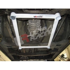 Isuzu D-Max 2.5D UltraRacing 4-Point Front H-Brace